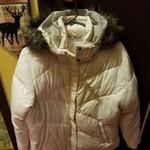 Columbia winter jacket to keep cozy.